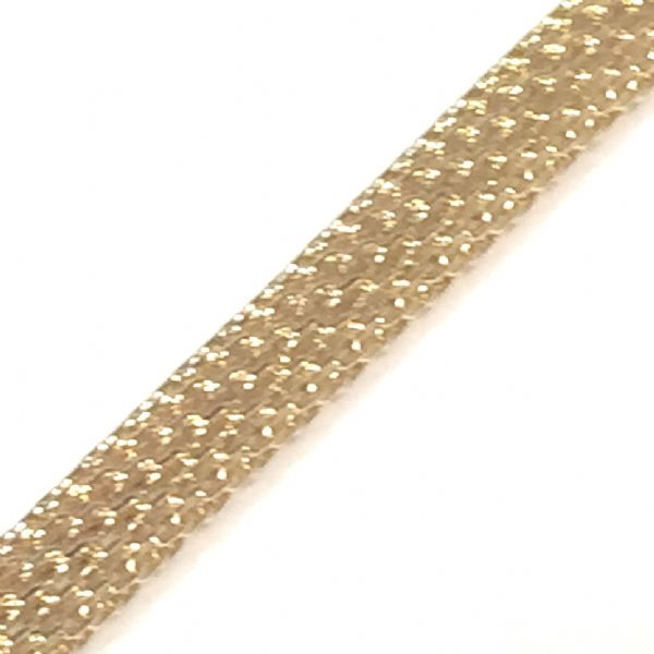 5mm mesh chain - rose gold / champagne - 2 metres